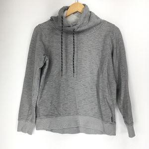 Columbia S Gray Sweatshirt Cowl Neck